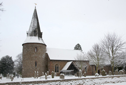 St Marys Church winter 2010