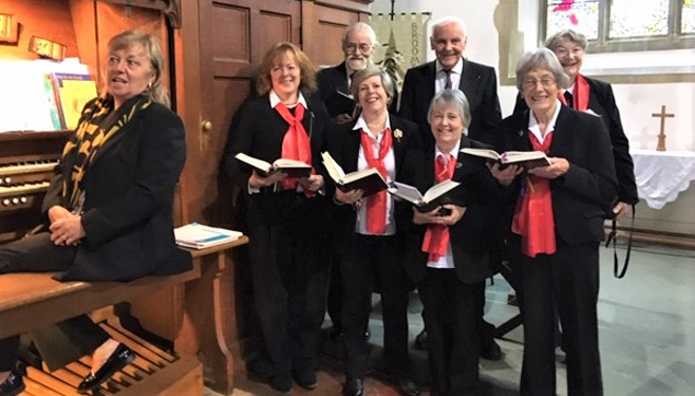 Choir of St. Mary's Church, Broomfield