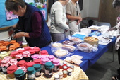 There were preserves and cakes galore!