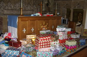 'Operation Christmas Child' shoeboxes