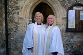 Day of joy for Revd Julie and Revd Carolyn