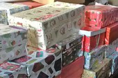 Your shoeboxes are greatly appreciated