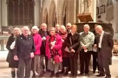 Evening Prayer Group at the Cathedral